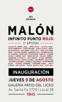 Flyer Malón Infinito Punto Rojo