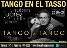 Afiche Rubén Juárez - Torcuato Tasso