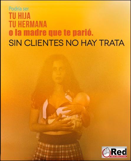 Campaña no a la trata de personas
